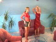 Deux lesbiennes se bouffent la chatte